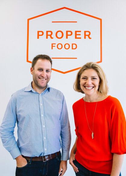 Howard & Dana Bloom, Owners of Proper Food